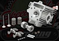 Head. YX 125 RED TAG RACE Gas flowed. Complete head ready to bolt on