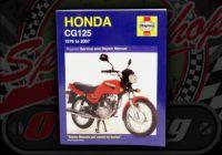 Manual. Haynes. Honda CG125. Skyteam ACE 125.