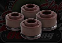 Valve stem seals 4 valve engines