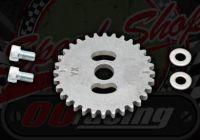Cam sprocket. V.V.T-35. YX150, YX160, YX170, Z155. 2V and 4V. Adjustable valve timing