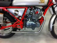 Front pipe. Exhaust. Ace 125cc. Stainless steel construction. D-CAT. 32mm I/D bore. 35mm O/D. 1.5mm wall