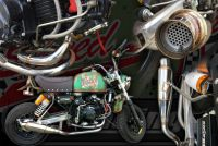 Exhaust stainless High torque performance system suitable for monkey Or C90