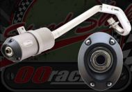 Exhaust. Complete. Compatible with KLX type Pit bike frames with Honda compatible ports. 28mm. Oval