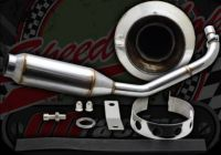 Exhaust. Complete. Low BOZ System. Stainless steel construction. Suitable for use with Monkey bikes