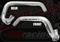 Exhaust front pipe KLX port for BBR style Perimeter frames 30mm bore