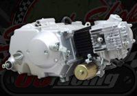 72cc. Engine 2 Valve. Lifan. 4 speed. Manual gear box. Electric start