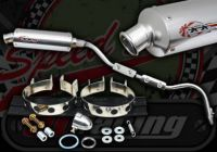 Exhaust. Complete. Performance under seat system. Suitable for use with Madass 50cc
