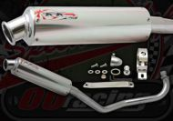 Exhaust. Complete. OORacing Japan Works System. Upswept style. Suitable for use with Monkey bike & PBR