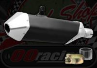 Silencer. End can. KTM style. Large unit