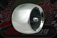 Air filter. AERO. Choice of 35mm, 38mm, 42mm, 45/46mm. Chrome. 90 degree fitting. Budget