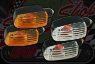 Flasher Bulb type. OB style. Clear or Amber lens
