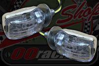 Flasher Micro head LED chrome E8 approved