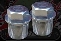 Fork top CNC cap plugs 19mm x 1.00