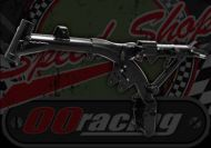 Frame. Steel standard. Suitable for Monkey bike BLACK OR SILVER FINISH