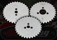Cam sprocket. 32T. Choice of 3 hubs
