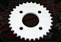 Chain and Sprocket Kit. Dax Bolt on. 420 Pitch 17mm spline