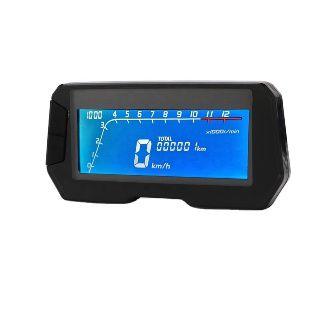 Speedo. Speed/revs LCD backlit flat screen universal
