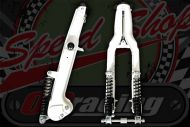 CUB forks with extra shocks or you can fit dampers in place Kepspeed