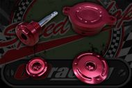 Engine CNC dress up kit for Z190 engines RED