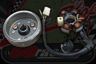 Flywheel & stator core for Z190 E start