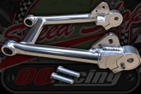 Swinging arm +2 alloy with concentric chain adjusters from Kepspeed