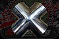 Stainless 304 exhaust/inlet pipe Cross Sizes OD from 19mm to 76mm