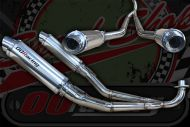 Exhaust. RF Twin aluminum can suitable for monkey or DAX, well silenced not straight through