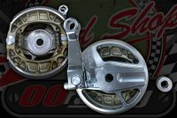 Brake. Plate CNC open side With EBC SHOES Front or Rear