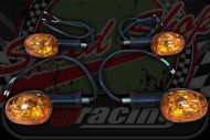 Flasher set Madass 125 later version Bulb type Amber E4 approved