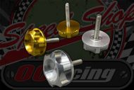Handlebars. Clamp. Locker bolts. M8. CNC. alloy head. Steel bolt. Suitable for DAX or Monkey
