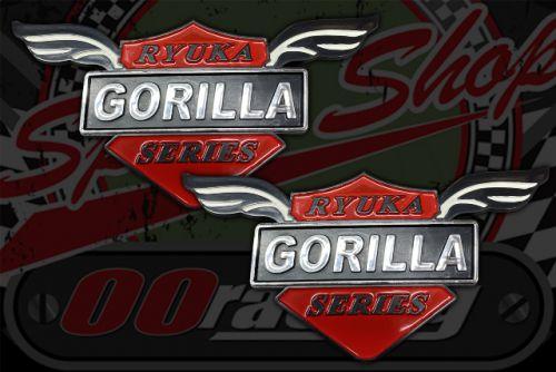 Badge.  Gorilla wings