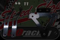 Tail light and number plate holder suitable for monkey bikes