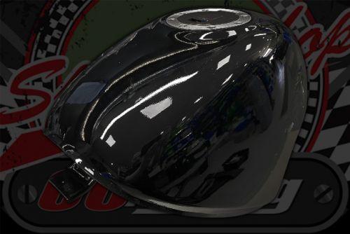 Tank PBR sky team. Flush filler cap Gloss black