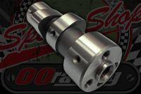 Camshaft. Suitable for Honda C90 non bearing heads longer opening duration type better torque.