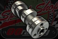 Camshaft. Suitable for Honda C70 non bearing heads longer opening duration type better torque.
