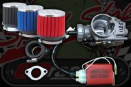 Tune up kit for YX140/160cc huge improvement over the Molkt stock carb