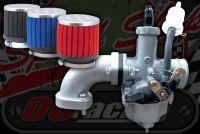 Carb kit. 26mm Oval bore MOLKT NEW Better fuelling for 125 BV or small valve engines
