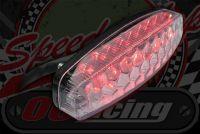 Rear. Light LED honeycomb clear slim line