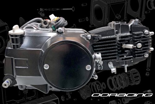 SKYTEAM EFI 50cc to 110cc or 125cc. conversion kit 4 speed. Manual gear box. NON Electric start