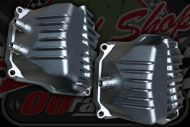 Valve cover Z190 with AN6 breather fittings, single or dual unpainted