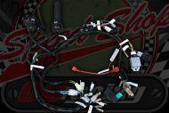 Loom kit and switches standard for Monkey bike running stock charging split phase