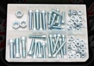 CAP SCREWS & NUTS PACK (75PCE)
