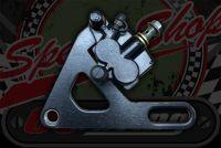 Caliper. Rear twin pot 12mm Or 15mm axle 190 disc