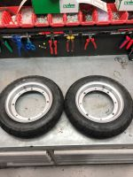 Wheels & Tyres removed  from new Skyteam DAX