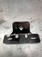 Number plate & rear light bracket from grab rail kits