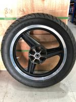 Wheel. Rear with tyre new old stock tyre from 2012 but still usable