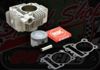 Cylinder kit. 65.0mm bore. 2 Valve. Ceramic coated. YX engine