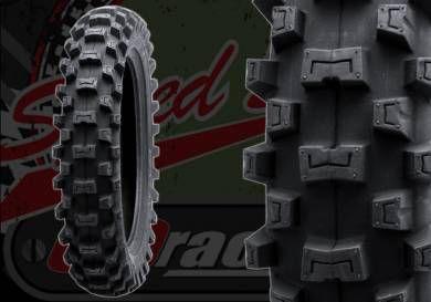 """Tyre. Michelin. 2.75""""x10"""". Starcross 5 mini. Rear"""