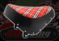 Seat. Monkey.Tartan. Red cloth. Suitable for use with Monkey