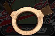 Copper slip ring shim for selector barrel's